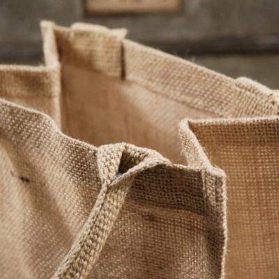 Джутовые сумки натуральные